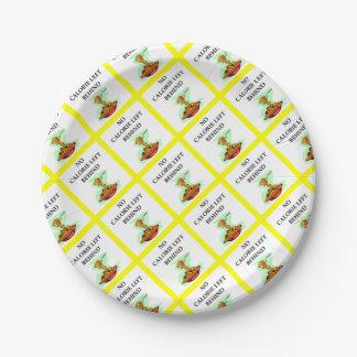 spaghetti paper plate