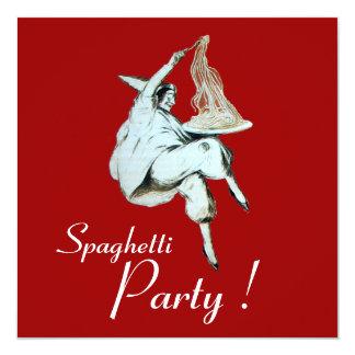 SPAGHETTI PARTY,ITALIAN KITCHEN Dinner Invitation
