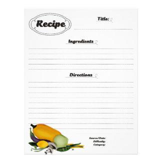 Spaghetti squash vegetable fruit recipe letterhead