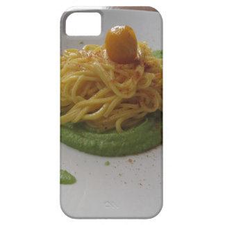Spaghetti with bottarga on asparagus sauce case for the iPhone 5