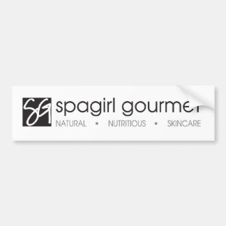 Spagirl Gourmet Sticker Bumper Sticker