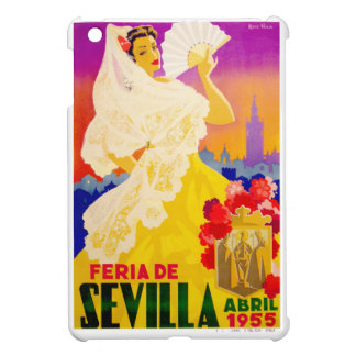 Spain 1955 Seville April Fair Poster iPad Mini Covers
