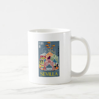 Spain 1960 Seville Festival Poster Coffee Mug