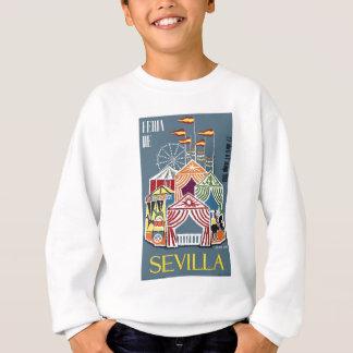Spain 1960 Seville Festival Poster Sweatshirt