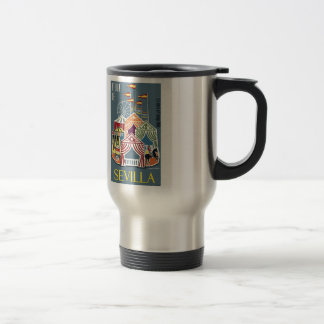 Spain 1960 Seville Festival Poster Travel Mug