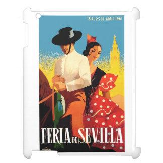 Spain 1961 Seville April Fair Poster Case For The iPad