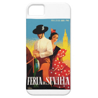 Spain 1961 Seville April Fair Poster iPhone 5 Covers