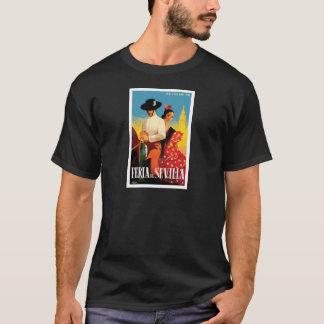 Spain 1961 Seville April Fair Poster T-Shirt