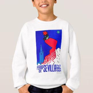 Spain 1964 Seville April Fair Poster Sweatshirt