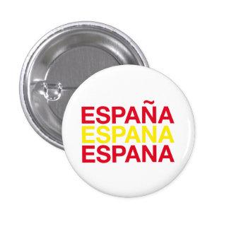SPAIN 1 INCH ROUND BUTTON