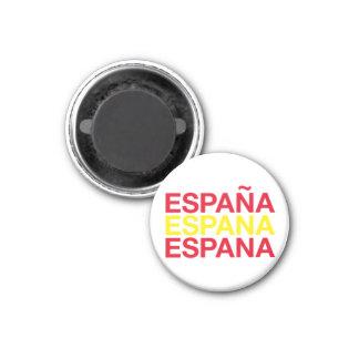 SPAIN 1 INCH ROUND MAGNET