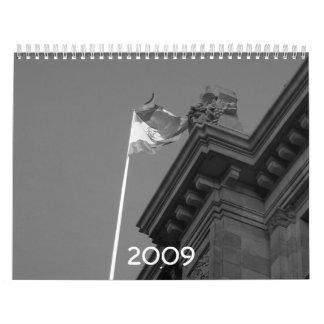 Spain 2009 wall calendars