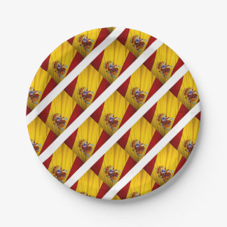 SPAIN 7 INCH PAPER PLATE