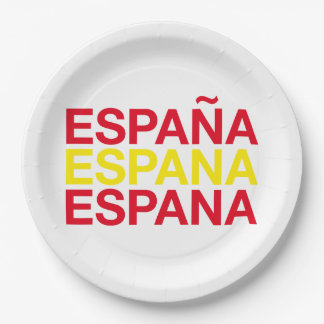 SPAIN 9 INCH PAPER PLATE