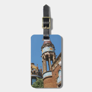 Spain Barcelona Luggage Tag