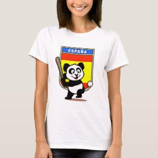 Spain Baseball Panda T-Shirt