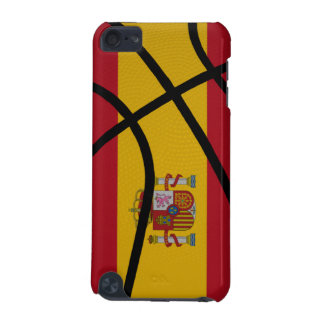 Spain Basketball iPod Touch Case