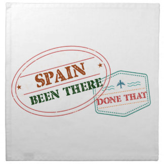Spain Been There Done That Napkin