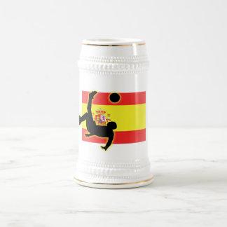Spain Bicycle Kick Beer Stein