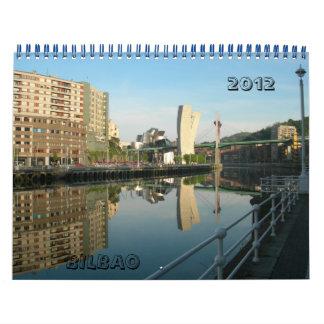 Spain BILBAO,  2012 Calendars