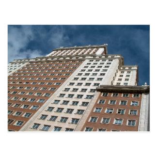 Spain building, Place of Spain, Madrid Postcard