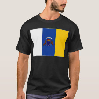 Spain Canary Islands Flag T-Shirt