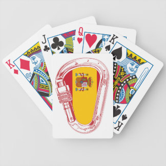 Spain Carabiner Flag Bicycle Playing Cards