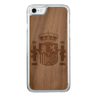 Spain Carved iPhone 7 Case