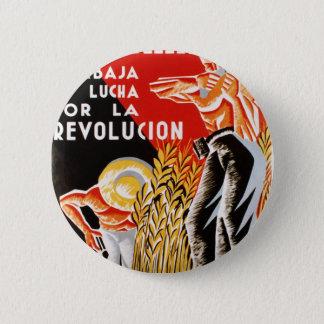 Spain civil war CNT-FAI original poster 1936 2 Inch Round Button