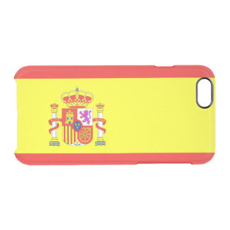 Spain Clear iPhone 6/6S Case