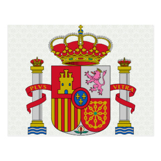 Spain Coat of Arms detail Post Cards