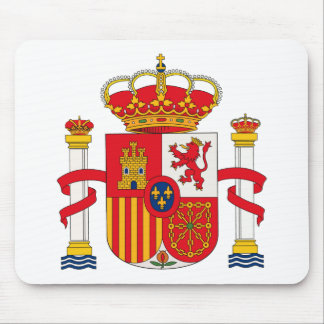 Spain Coat of Arms Mousepad