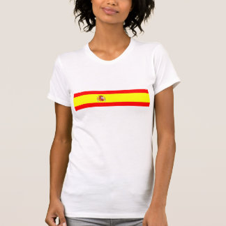 Spain country flag spanish nation symbol T-Shirt