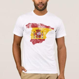 Spain Distressed Flag T-Shirt