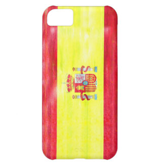 Spain distressed Spanish flag Cover For iPhone 5C