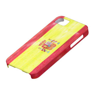 Spain distressed Spanish flag iPhone 5 Cover
