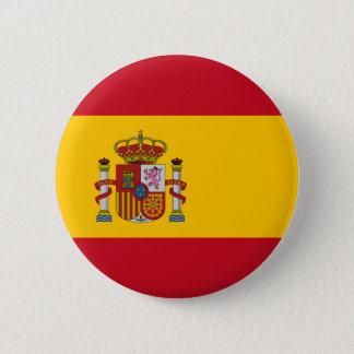 Spain Flag 2 Inch Round Button