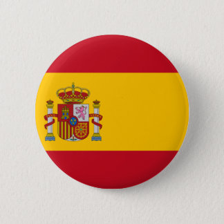 Spain Flag 2 Inch Round Button