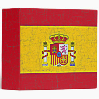 "SPAIN FLAG 2"" Ring Binder"