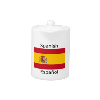Spain Flag And Spanish Language Design