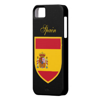 Spain Flag Case For The iPhone 5