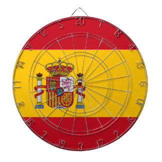 Spain Flag Dartboard
