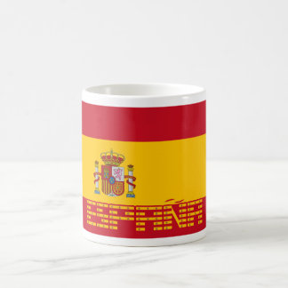 Spain - Flag / España - Bandera Coffee Mug