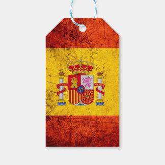 Spain flag gift tags