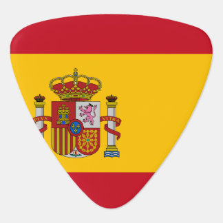 Spain Flag Guitar Pick
