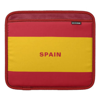 Spain Flag iPad Sleeves