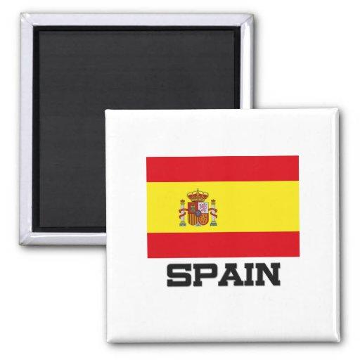 Spain Flag Fridge Magnet