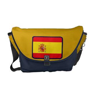 Spain flag messenger bag