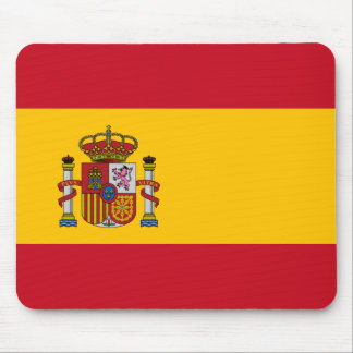 Spain Flag Mouse Pad