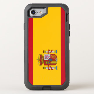 Spain Flag OtterBox Defender iPhone 8/7 Case
